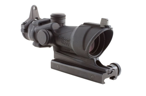Trijicon 4X32 Acog W/Back Up Iron Sights