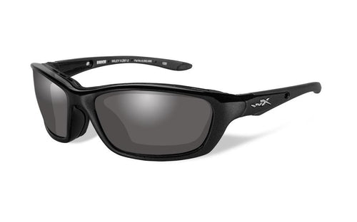 Wiley X Brick, Light Adjusting Grey Lens, Gloss Frame - www.unitedruckerssupplycom