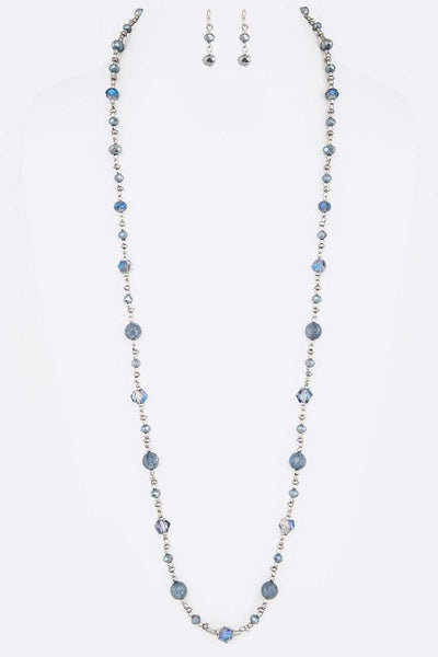"34"" Beaded Necklace Set"