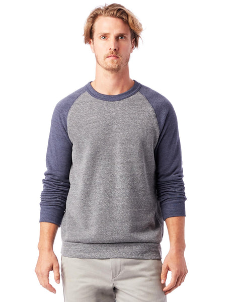 Alternative Apparel Color Block Champ Sweatshirt