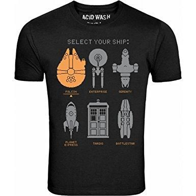 Select Your Ship Tee