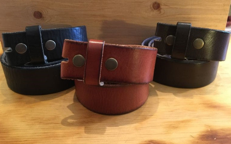 Vintage Full Grain Leather Straps