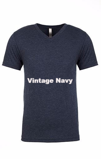 Men's Tri-Blend V-Neck Tee