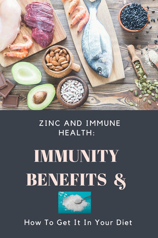 Zinc for immune health