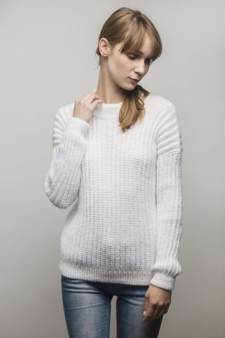 Sweater Espínola Knitwear Blanco