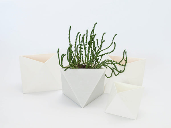 Smoky Quartz Stone Planter