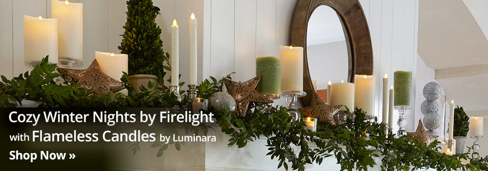 Elegant Ambiance with Flameless Candles by Luminara. Shop now...