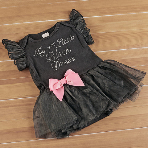 My 1st Little Black Dress Onesie