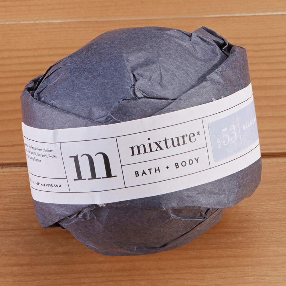 Handcrafted Bath Bomb by Mixture