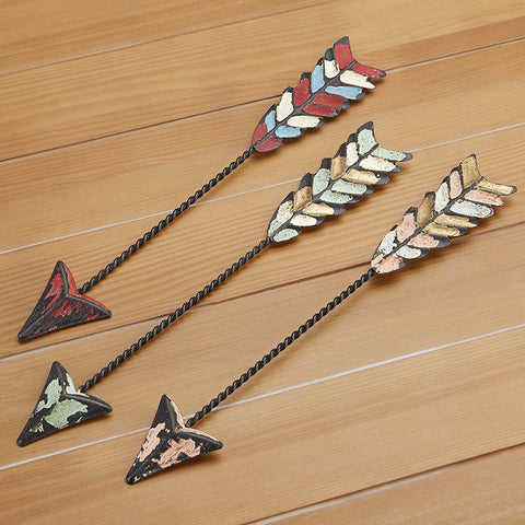 Painted Metal Arrow