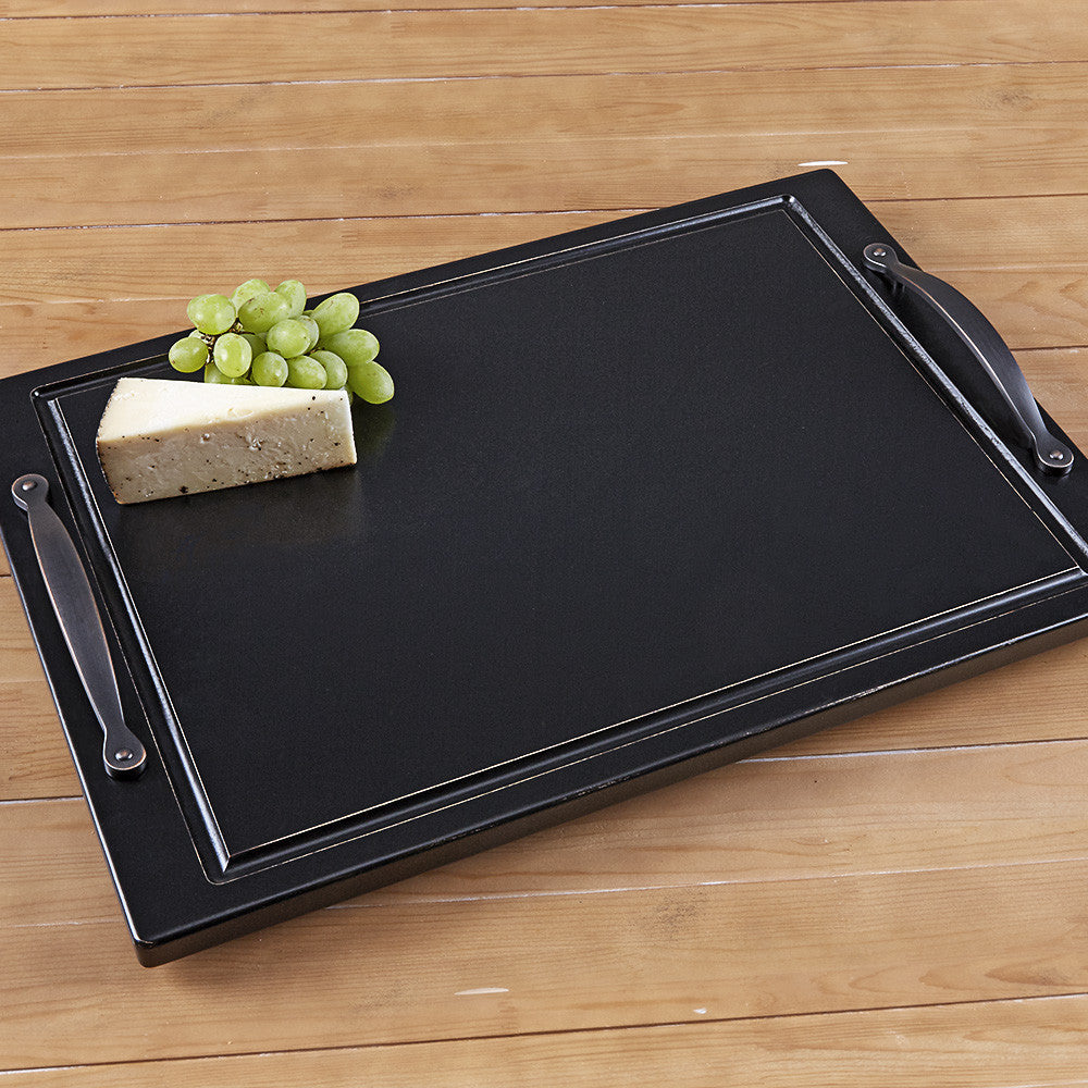 Black Cherry Wood Serving Tray