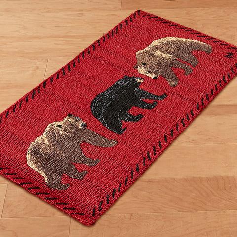 Mixed Bears Chandler 4 Corners Rug 2 x 4 feet