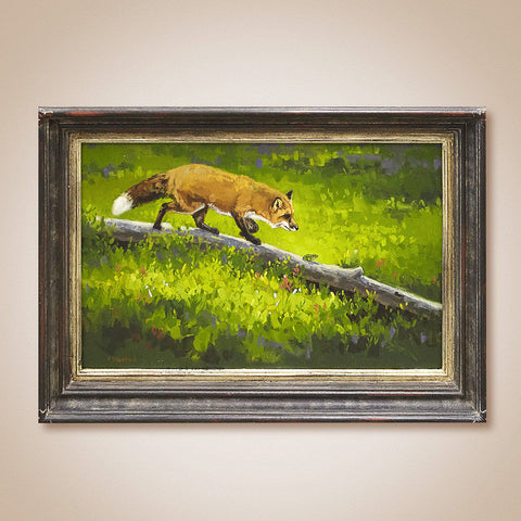 """Friend or Foe"" Original Oil Painting by Tiffany Stevenson"