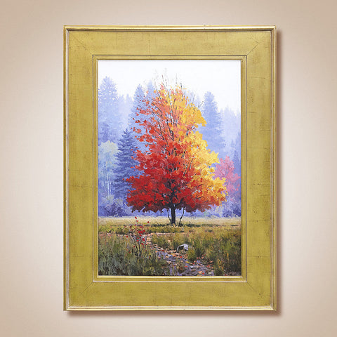 """Crimson Maple"" Original Oil Painting by Douglas Aagard"