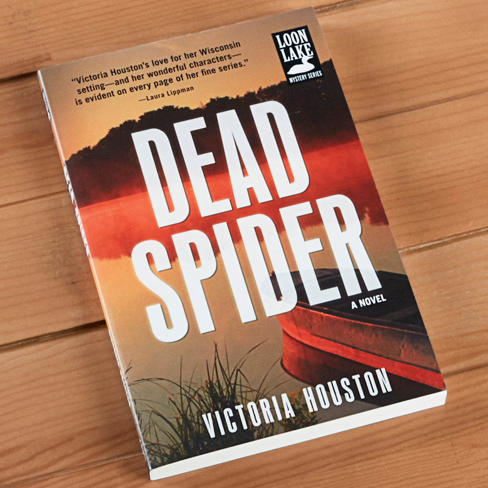 """Dead Spider"" Mystery Novel by Victoria Houston"