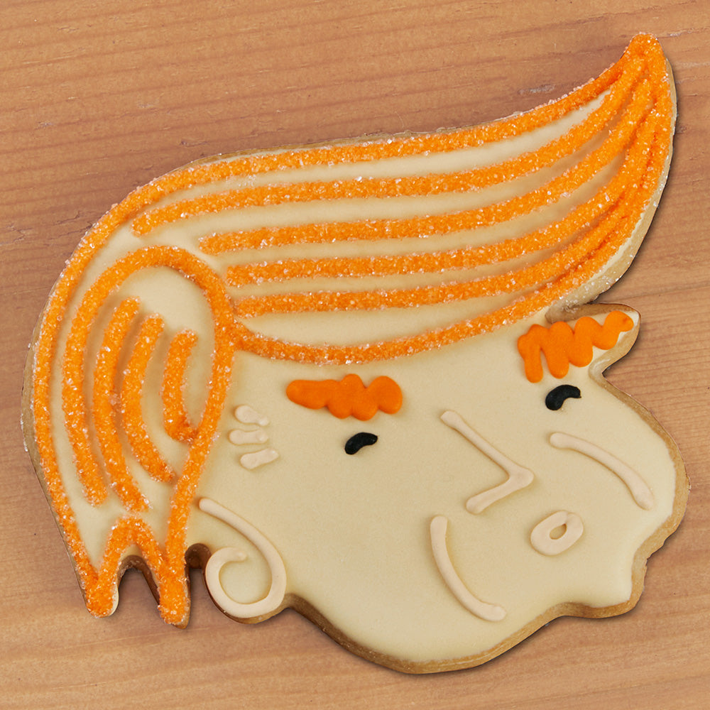 Donald Trump Frosted Sugar Cookie
