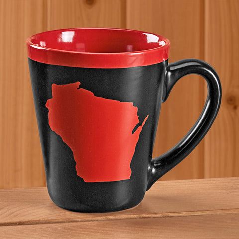 Souvenir Wisconsin Coffee Mug