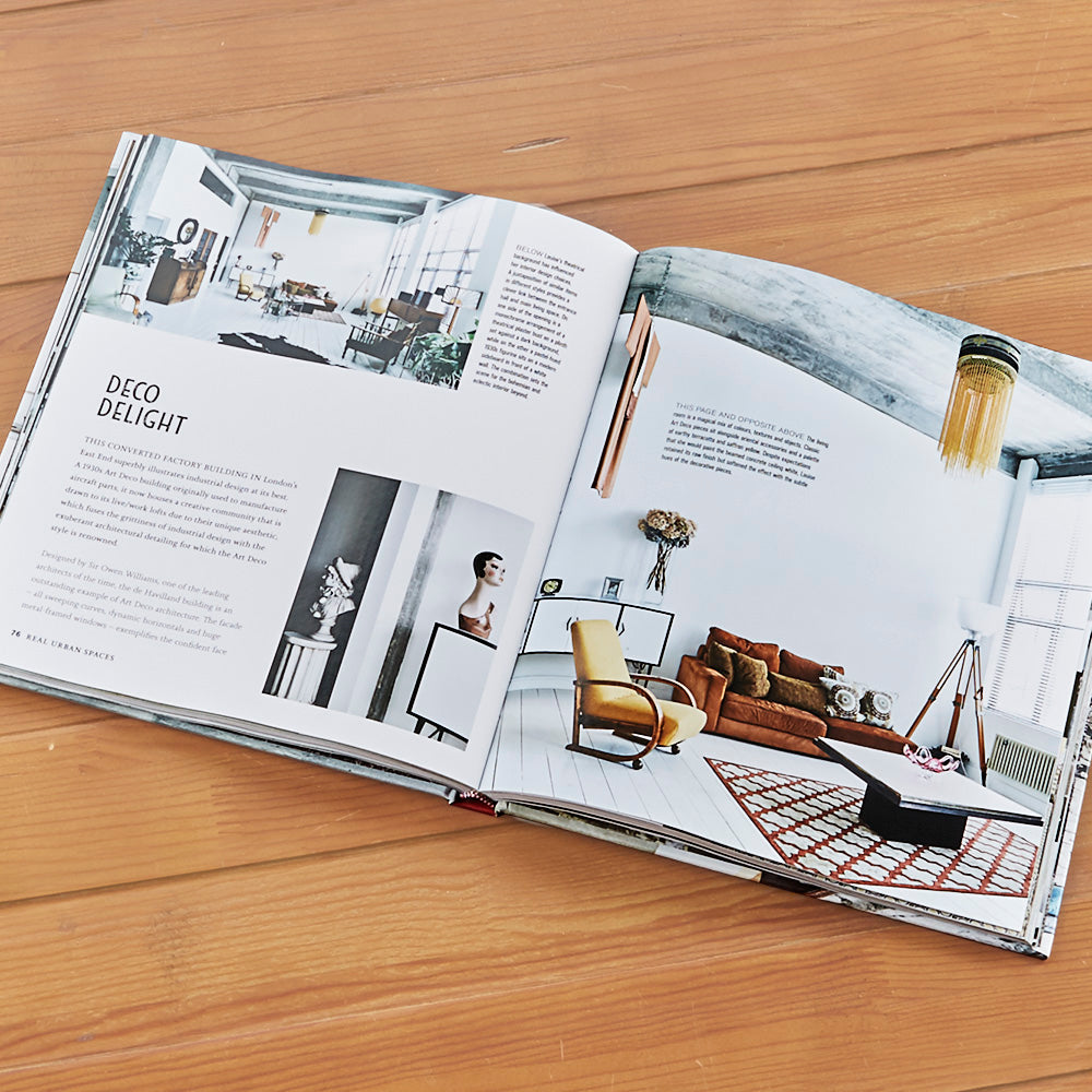"""Urban Pioneer: Interiors Inspired by Industrial Design"" by Sara Emslie and Benjamin Edwards"