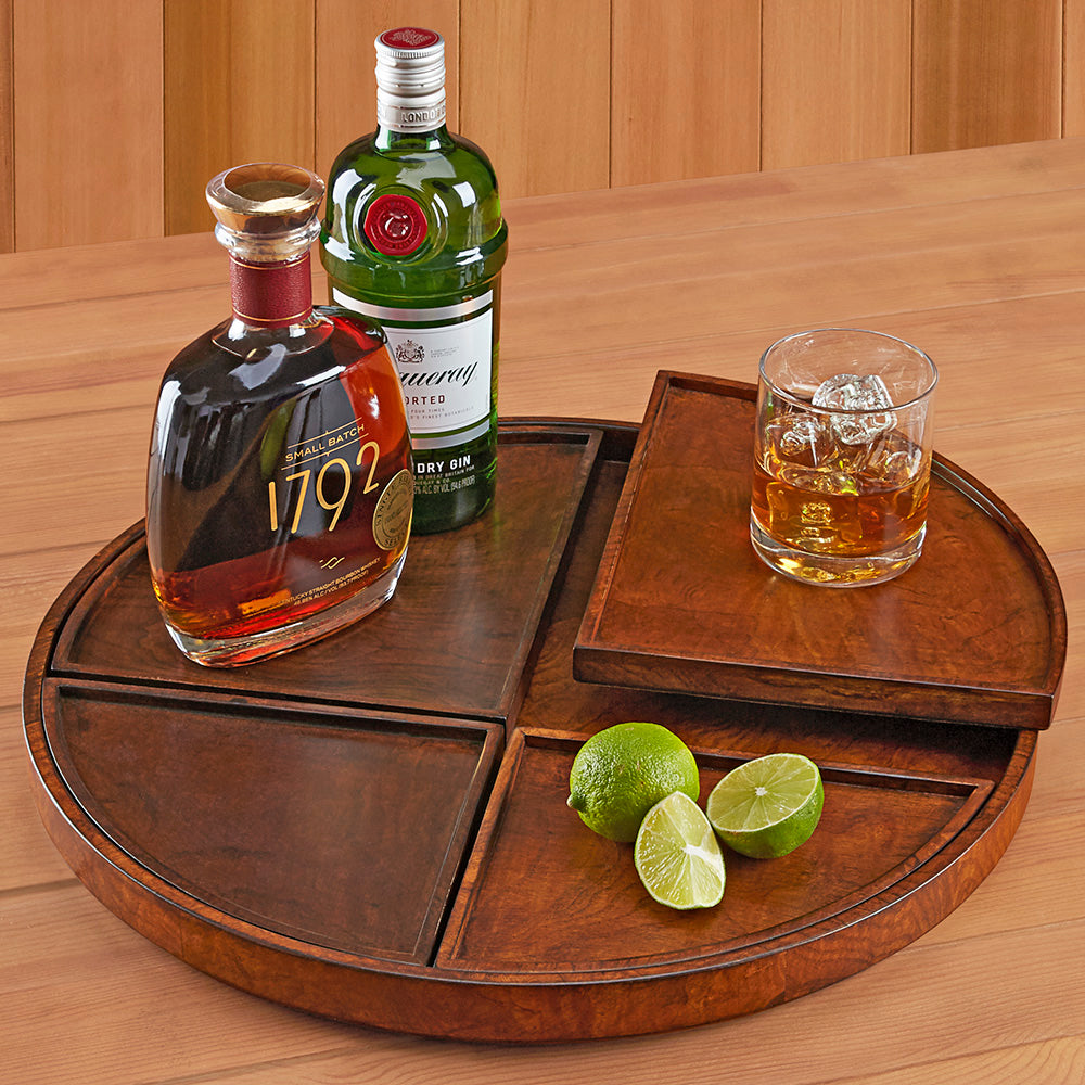 5-Piece Tobias Wood Nesting Trays