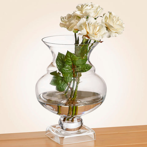 Charleston Glass Hurricane Vase