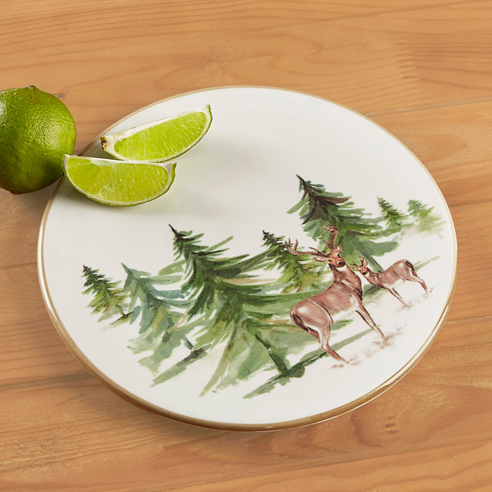 Woodlands Foresta Ceramic Serving Tray / Trivet