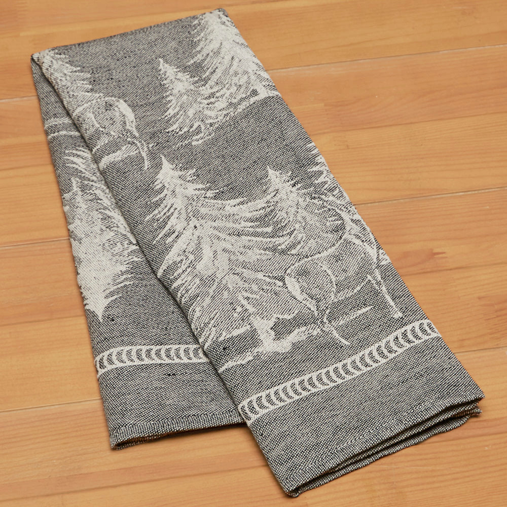 Premium Woven Italian Tea Towels, Woodlands