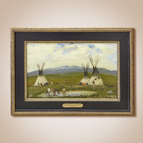 """Cheyenne of the Plains"" Original Oil Painting by Bill Mittag"
