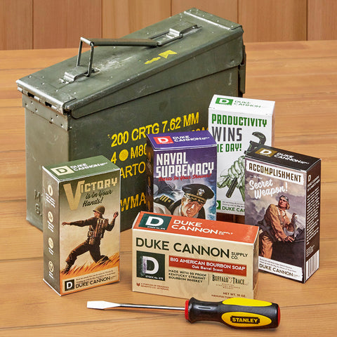 Duke Cannon Limited Edition U.S. Military Field Box Gift Set