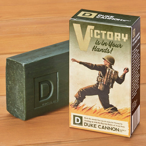 Duke Cannon WWII Big Ass Brick of Soap, Victory