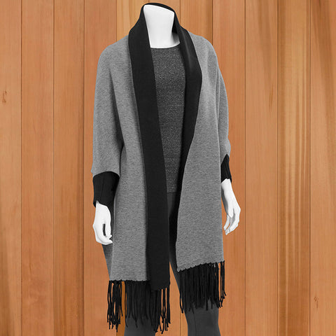 Mer-Sea 2-in-1 Reversible Wrap and Scarf