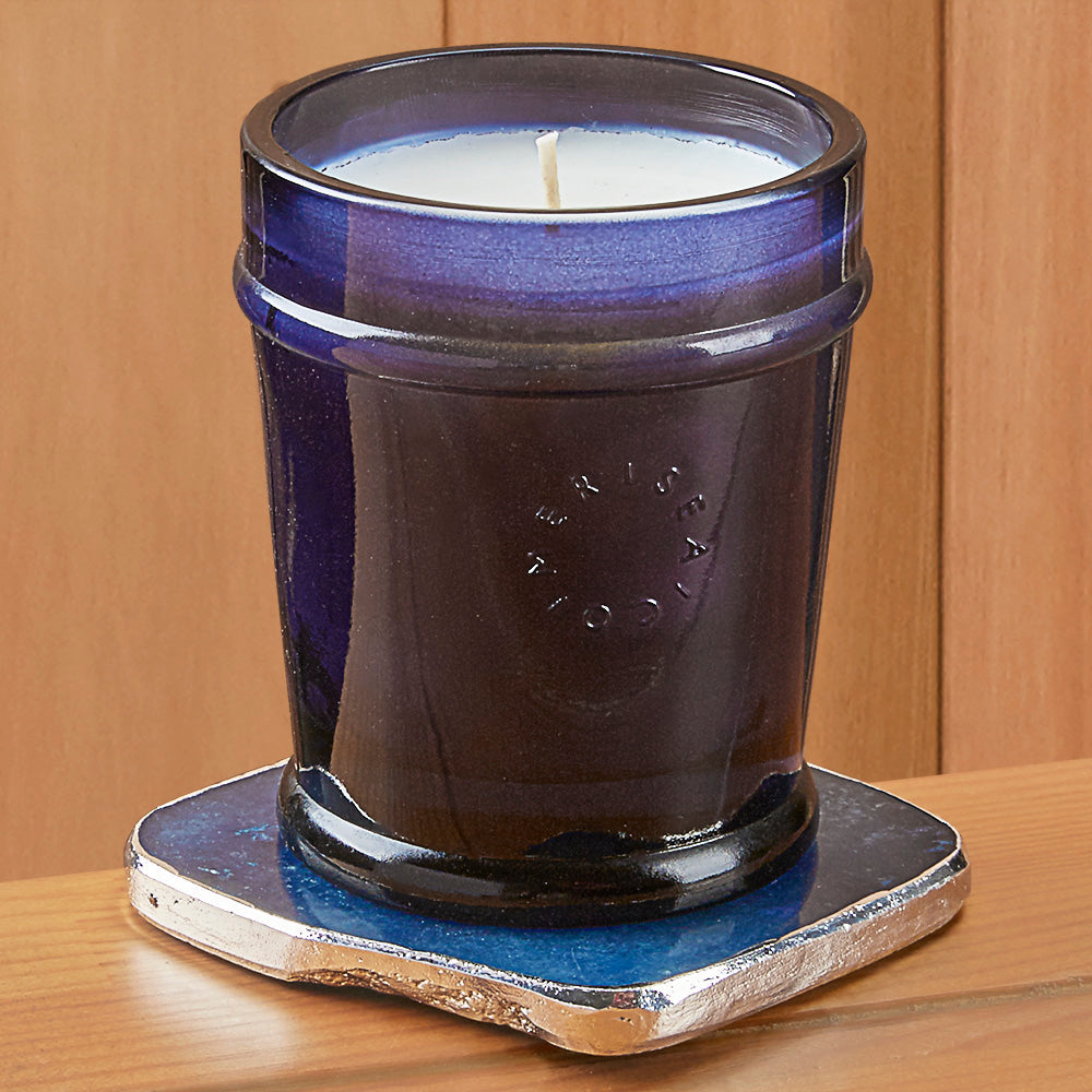 Mer-Sea Luxe Candle with Quartz Coaster