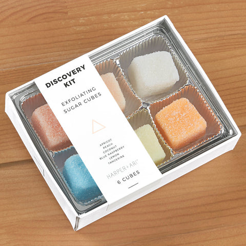 Exfoliating Sugar Cube Gift Box, Discovery