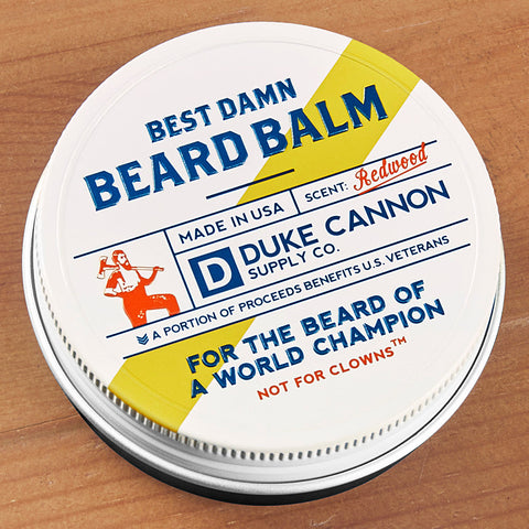 Duke Cannon Best Damn Beard Balm