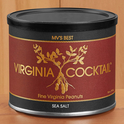 Virginia Cocktail Peanuts, Sea Salt – 10 and 22 oz