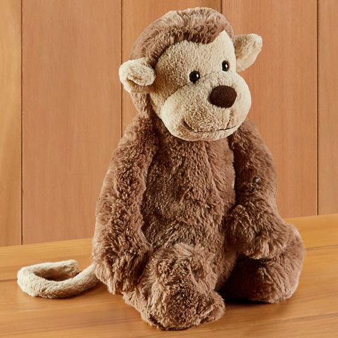 Bashful Monkey Stuffed Animal by Jellycat