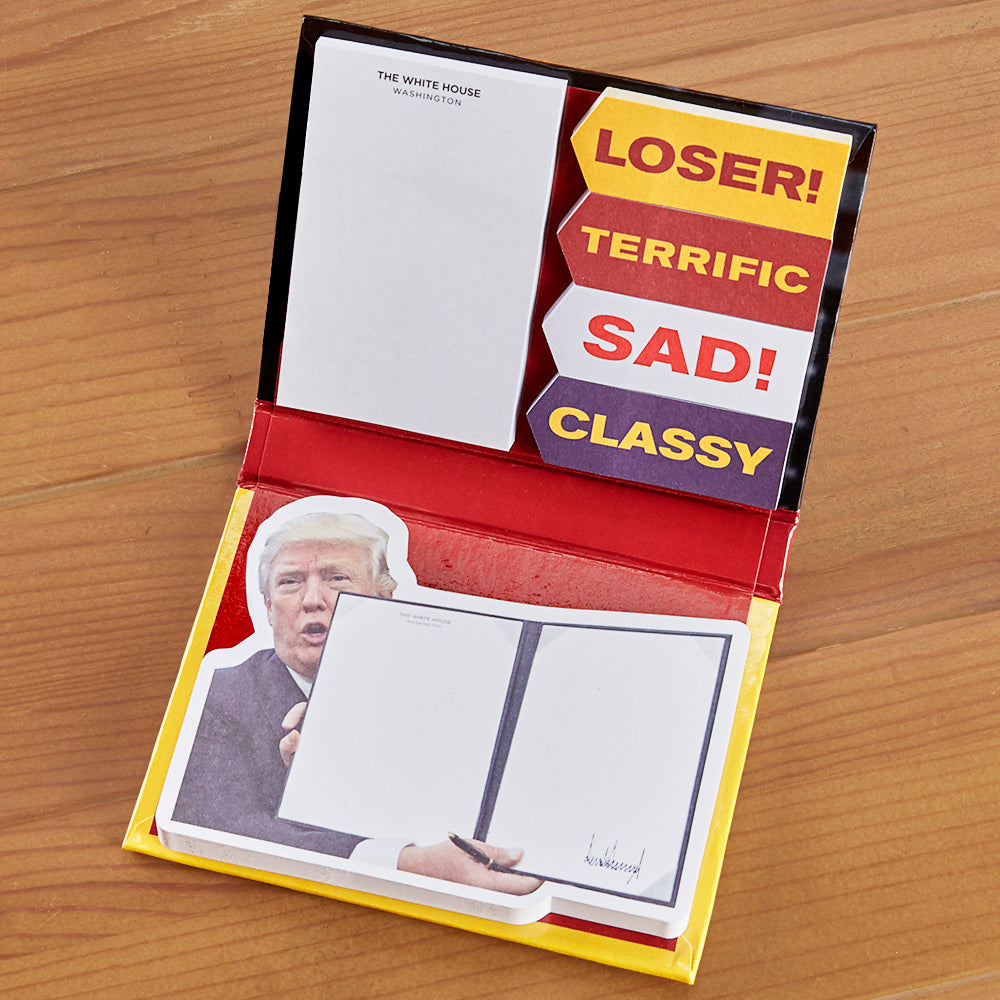 Trump's Executive Orders Sticky Note Booklet