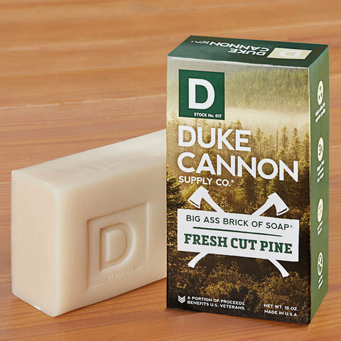 Duke Cannon Big Ass Brick of Soap, Fresh Cut Pine