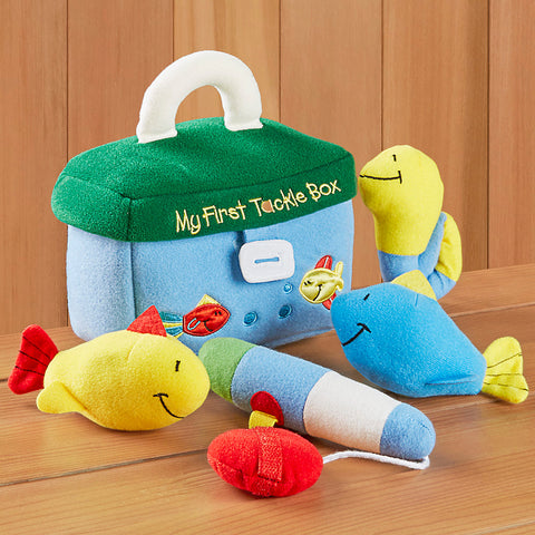 Gund My First Tackle Box Plush Playset