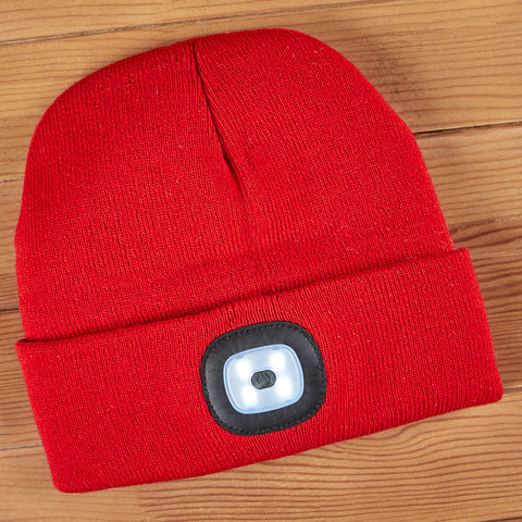 Night Scout Rechargeable LED Light Beanie, Men's