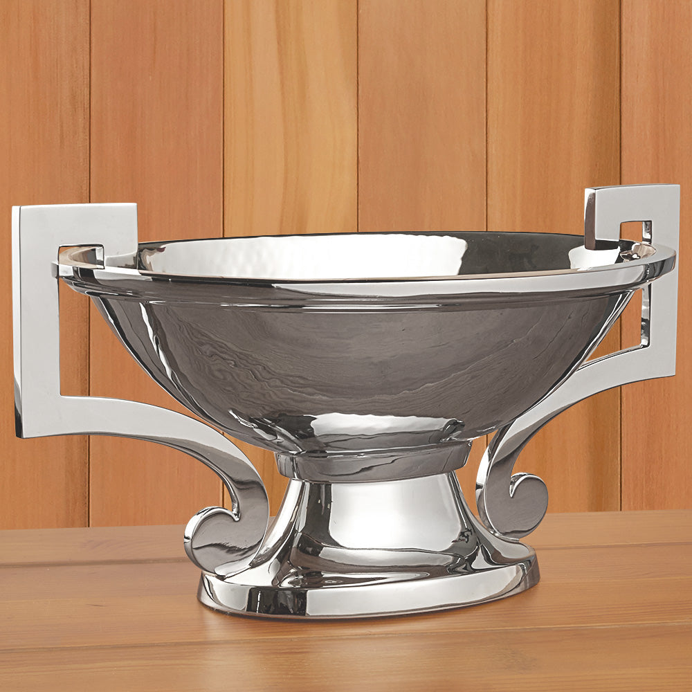 Polished Nickel Compote Bowl