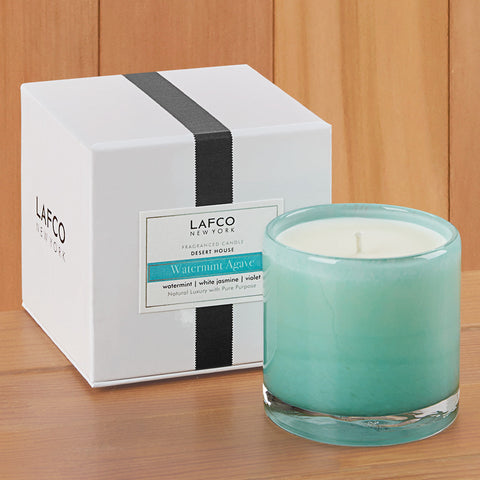 "LAFCO Candle - Desert House ""Watermint Agave"" - 6.5 oz and 15.5 oz"