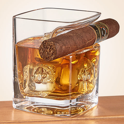 Corkcicle Cigar Whiskey Glass