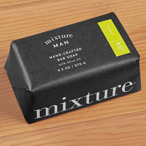 Mixture Man Handcrafted Bar Soap with Olive Oil