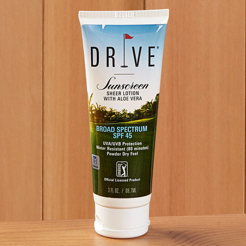 Drive PGA Tour Sunscreen Lotion with Aloe Vera, SPF 45