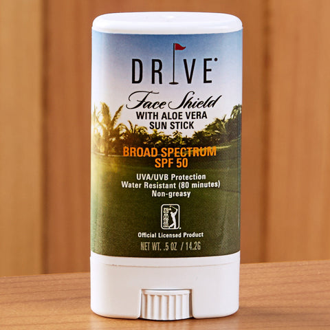 Drive PGA Tour Face Shield Sunscreen Stick with Aloe Vera, SPF 50