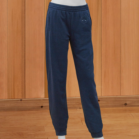 Lakegirl Women's French Terry Sweatpants - Navy Blue