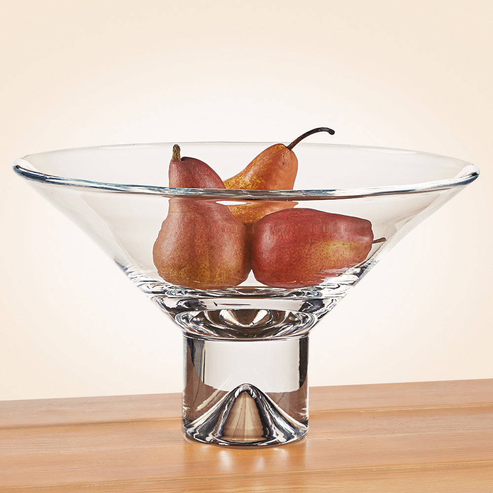 Badash Mouth Blown Crystal Fruit Bowl