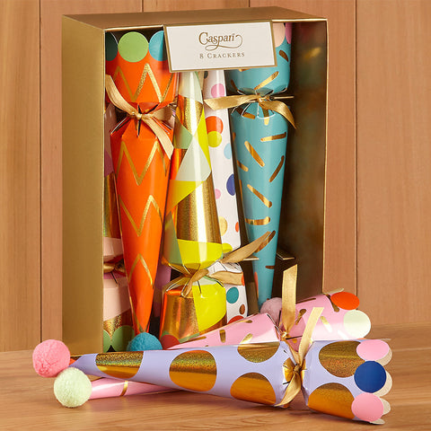 Caspari Celebration Crackers - Birthday Party Hats