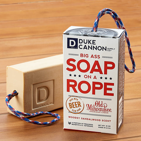 Duke Cannon Big Ass Beer Soap on a Rope