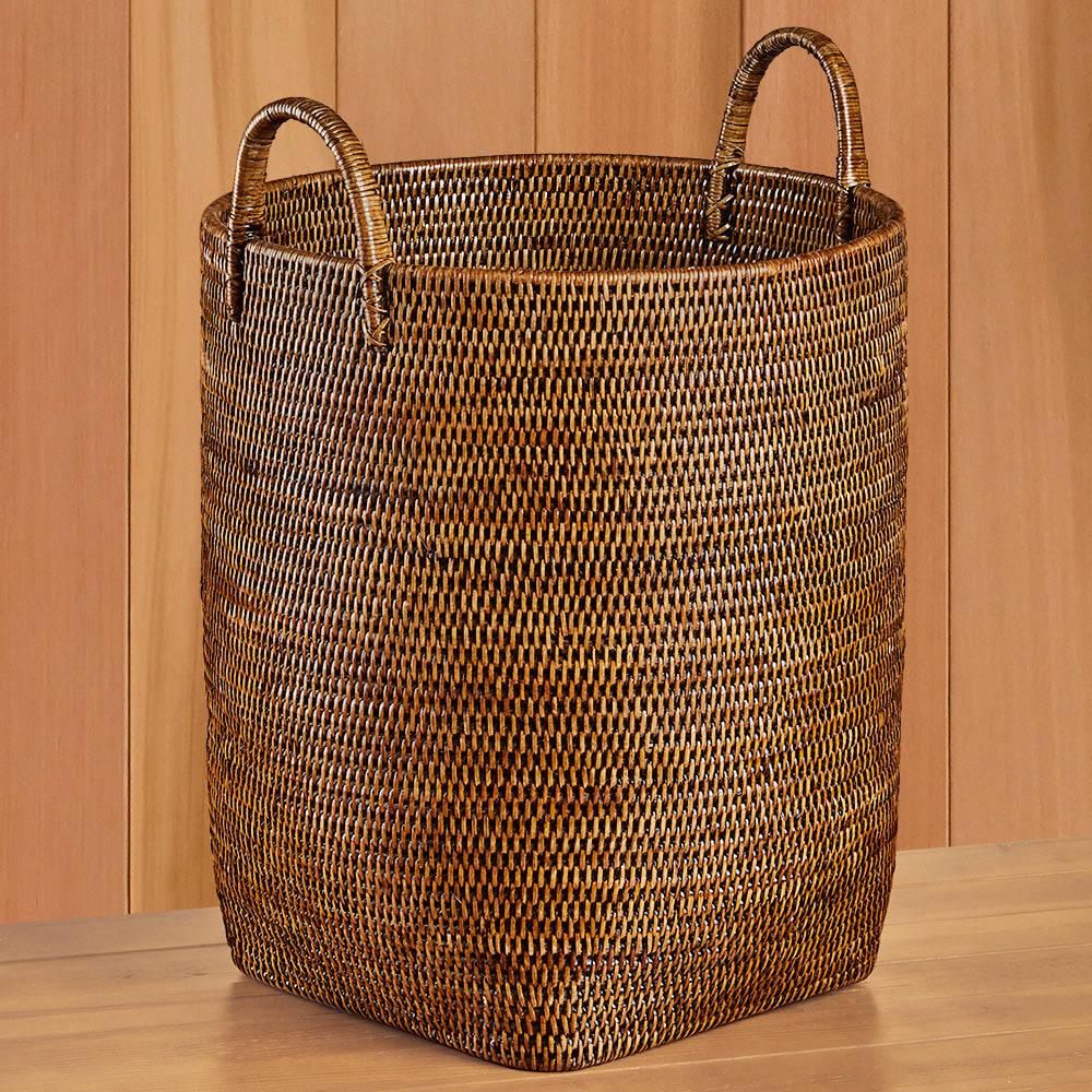Rattan Orchard Tote Basket